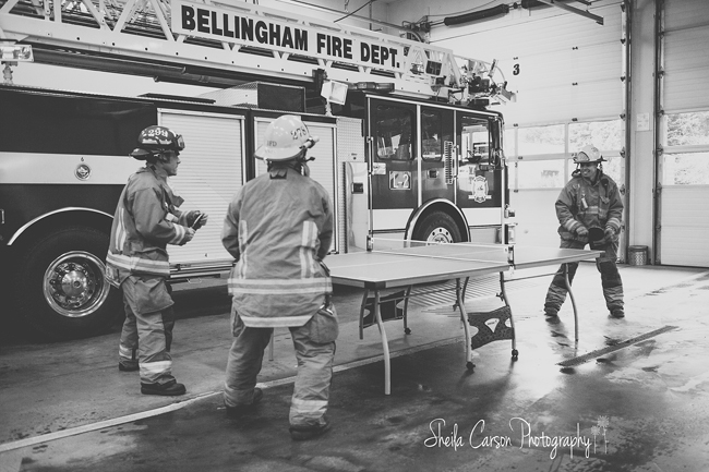 bellingham fire department | fire fighter portraits | black and white fire fighter pictures | fairhaven fire fighter | station 2