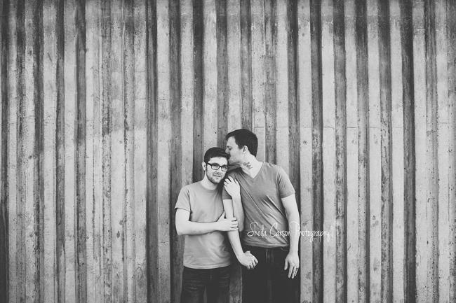 bellingham same sex engagement photography | urban same sex engagement session | urban same sex engagement photography | lgbt photography