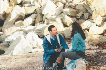 bellingham proposal photography | bellingham engagement photographer | beach proposal