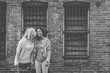 bellingham engagement photographer | same sex engagement photos | urban same sex engagement photography | sheila carson photography