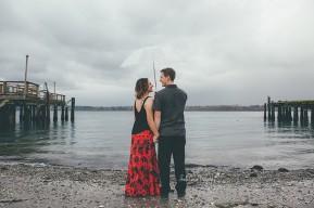 bellingham engagement photography | bellingham engagement photographer | seamiahmoo beach engagement