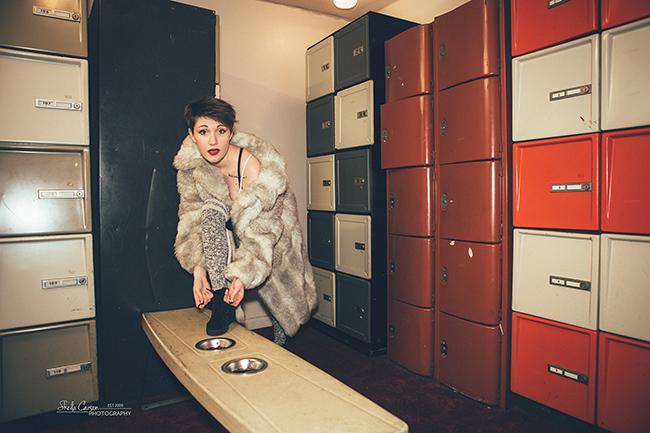 bellingham photographer   Nylon Magazine Styled shoot   bowling alley styled shoot