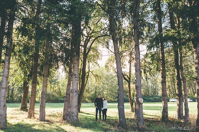 bellingham photographer, bellingham engagement photographer, farm engagement photography, Hovander Farm